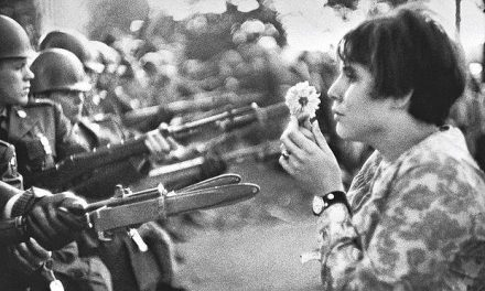 The Ultimate Confrontation: The Flower and the Bayonet